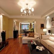 别墅现代简约风格客厅装修
