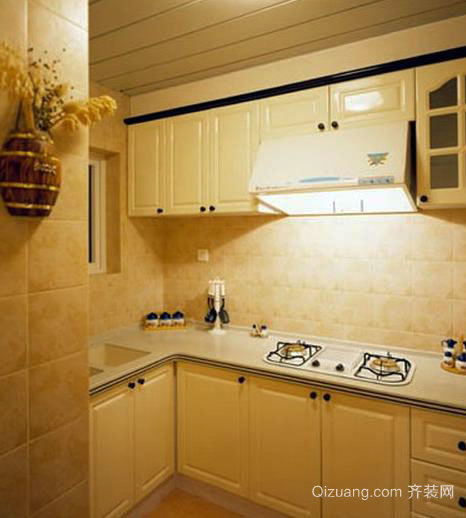 魅力无限:欧式厨房橱柜装修效果图展示