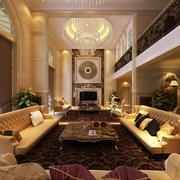 欧式别墅新房客厅设计