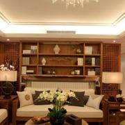 东南亚风格木制置物架