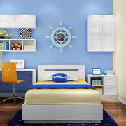 儿童房床头背景墙