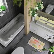 别墅一体式卫生间设计