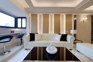 90平米客厅沙发装修