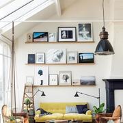 阁楼客厅背景墙设计