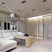 欧式公寓简约风格客厅led灯饰