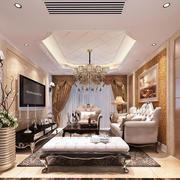 简约风格欧式客厅装修