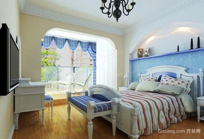 90平方地中海风格房屋装修效果图