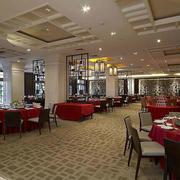 大型餐厅简约风格吊顶