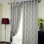 简约卧室灰色窗户装饰