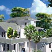 后现代简约风格别墅外观设计