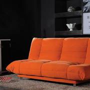 橘黄色沙发装饰