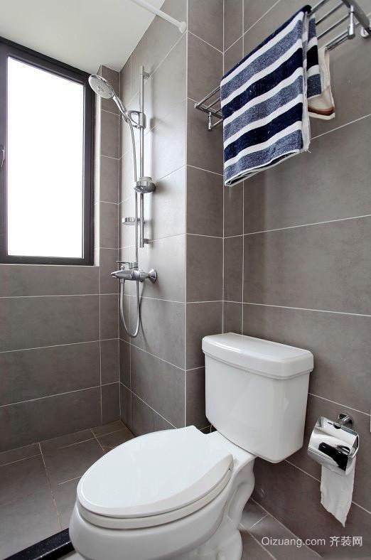 井然有序的规划:100平米三室两厅两卫装修效果图