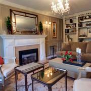 美式简约风格客厅装饰