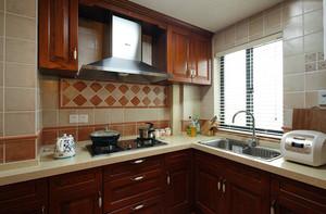 别墅欧式厨房效果图