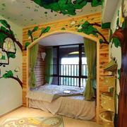 清新自然儿童房装修
