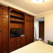 别墅卧室整体橱柜装修