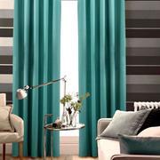 混搭风格简约客厅窗帘
