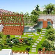 四合院自带小花园设计