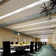 会议室简约吊顶装修