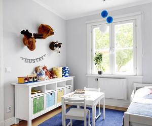 欧式白色简约儿童房桌椅装修