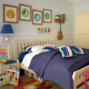 儿童房床头灯饰装修