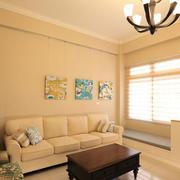 简约风格客厅沙发背景墙设计