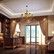 别墅奢华客厅飘窗装修