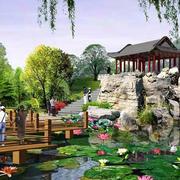 园林景观图示