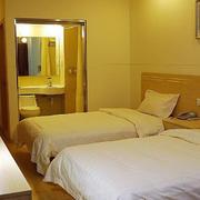 快捷酒店双人房设计
