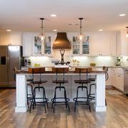 美式开放式厨房设计