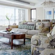 欧式精美客厅沙发设计
