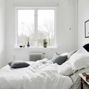 北欧风格卧室飘窗设计