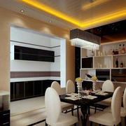 客厅简欧风格餐厅桌椅
