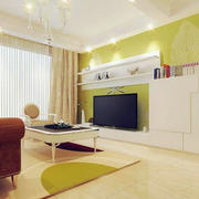 公寓简约电视墙装修