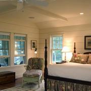 卧室石膏板吊顶