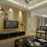 古韵十足中式电视墙