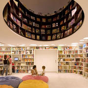 购物书店沙发设计