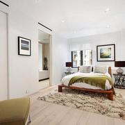 现代简约风格卧室墙壁设计
