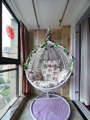 阳台创意吊床设计