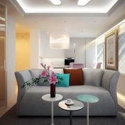 三室两厅简约沙发设计