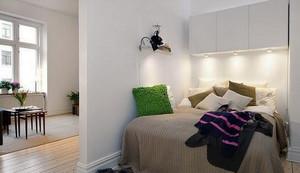 卧室创意橱柜灯饰设计