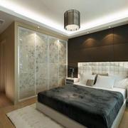 欧式卧室软包背景墙装修