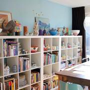 大型书房书柜设计