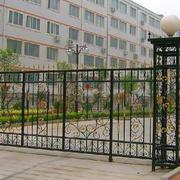 校园大门围墙设计