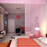 小户型卧室照片墙设计