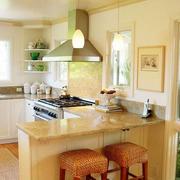 混搭风格厨房吧台设计