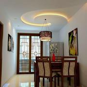 中式复古风格餐厅装饰