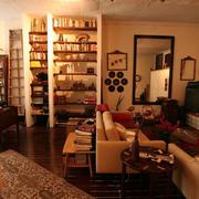 客厅书房一体式装修