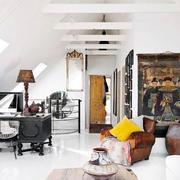 客厅简约吊顶设计