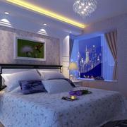 紫色梦幻卧室装饰